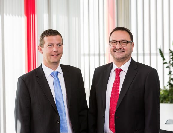 The business management: Dipl. Wirt.-Ing. (FH) Andreas Hartl and Norbert Keck