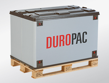 DUROPAC collapsible container