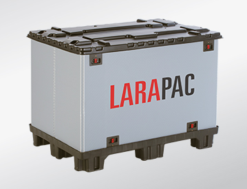 LARAPAC collapsible container